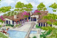Tuscan Estate, Rancho Santa Fe